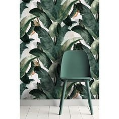 Muuto's NERD chair and Lemonjhb wallpaper * Wonderwall * The Inner Interiorista