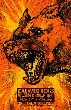 GigPosters.com - Girlfight - Wilson - Cadaver Dogs