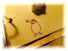 Stamp 桜文鳥の消しゴムはんこ[クローバー]ハンドメイドスタンプ春 インテリア 雑貨 Handmade ¥510yen 〆05月26日