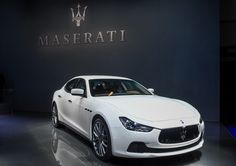 The Maserati complete updated product range. The exclusive interior packages by Ermenegildo Zegna featured on #MaseratiGhibli and #Quattroporte. Take a tour of our stand.