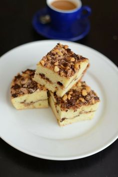 chocolate hazelnut coffee cake