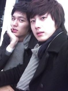 Lee Min Ho  Jung Il Woo (!)  Need Kim Bum to complete the bffs - I need a drama with all three of them in it, STAT!