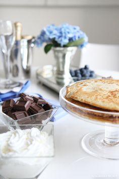 Blueberry and chocolate pancakes - Adalmina's Secret