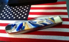 BLADE LIST - Knife, Sword, Blade FREE Classified ads: CASE BLUE, WHITE & GOLD SWIRL TRAPPER, KNIFE NOS, Limited Edition Knives Limited Edition Folding knives Listing Details