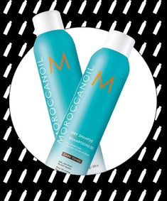 The Game-Changing Dry Shampoo:  Moroccanoil Dry Shampoo, $26. It comes in two shades: dark tones and light tones. The brunette has a subtle, non-messy tint that doesn't dull dark hair or stain fingers, clothes or styling tools; the blonde features violet undertones that cancel brassiness; both are infused with the brand's signature argan oil.