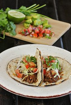 Coke-Braised Short Rib Tacos | The Hopeless Housewife