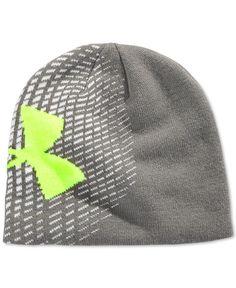 Under Armour Boys  Glow-In-The-Dark Logo Beanie Hat Hats Online eeb99662e1c