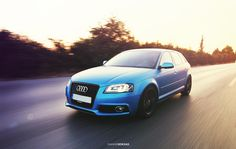 Audi A3 Sportback ≠ Anodized Blue Matt by Giannis Kokkas on 500px