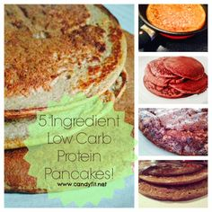 *CaNdY FiT*: Rush, Rush, Rush and #RECIPEFRIDAY: 5 Ingredient Low Carb Protein Pancakes! via @Kierston