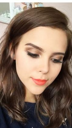 Make up Source by rosidagok Fashion yuya Makeup Inspo, Beauty Makeup, Hair Makeup, Hair Beauty, Pelo Cafe, Blush, Long Layered Hair, Hair Art, Hair Inspo
