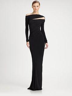 Dear Ms. DK:    DAMMMNNNNNN.    Donna Karan - Superfine Jersey Gown