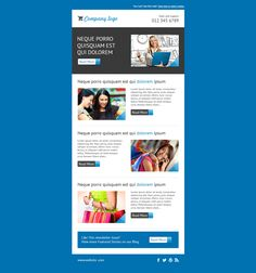 free professional newsletter templates