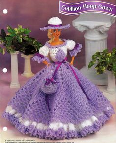 Cotillion Hoop Gown Crochet Pattern Annies by grammysyarngarden