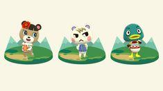 June, Marshal & Drake: animal crossing pocket camp