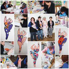 NaNa Schilder workshop - voor volwassenen–Workshops–Atelier Nim de Dei–Nim De Dei