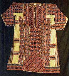 FolkCostume&Embroidery: South Khanty Embroidery, Art of an extinct people