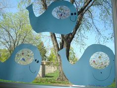 Trinity Preschool MP: Art and Bulletin Boards for Preschool Fish Theme-bellyfull of fish whales