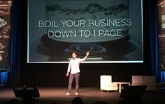 How to boil your business down to 1 page for startup success : Silicon Slopes