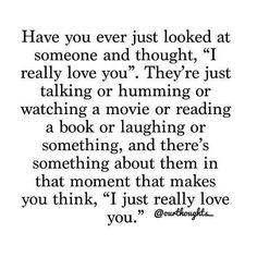 This without doubt is what I feel about Lindsay every time I look at her when she is doing other things ❤