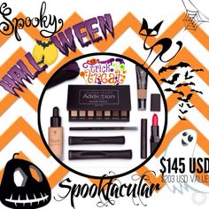 Spooktacular steal of a deal! Younique Cloud 9 Collection includes Foundation, Concealer, Brow Gel & Liner, Lipstick and 3D Fiber Lashes ➕ Mascara! $203 value for $145!