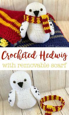 Crochet Amigurumi Free Patterns, Crochet Dolls, Crochet Stitches, Crochet Baby, Free Crochet, Knit Crochet, Crochet House, Harry Potter Crochet, Harry Potter Owl