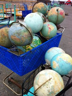"""I've bought over thirty globes and I still can't find your damn island on any of them!"""