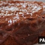 Banana Breakfast Cake with Chocolate Frosting - hmmm dates in the frosting