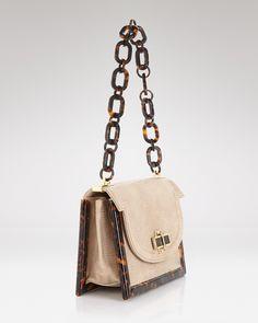 Tory Burch Shoulder Bag - Lizard Resin Frame | Bloomingdale's
