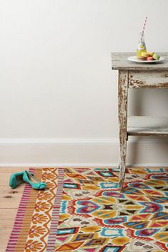 I need a crazy rug for our dining/living room. Where to find an inexpensive one...