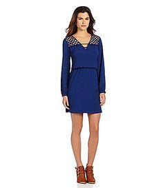 Spotted on The Dress Spot. Oak Park Mall, Deep Winter Colors, Fashion Beauty, Fashion Looks, Gianni Bini, Dillards, Autumn Fashion, Dresses For Work, Fan