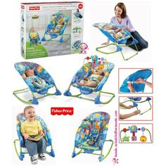 JUAL FISHER PRICE - DELUXE INFANT TO TODDLER COMFORT ROCKER (BLUE) | Item ID: 1382 | Harga: Rp. 525,000 | PIN BB: 29222F20 | SMS & Whatsapp Only: 0813 1062 3755 $60