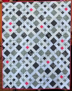 Happy Quilting: Out for a Stroll - A Finish and Tutorial