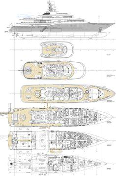 ULYSSES All Deck Plans Fraser Yachts Yacht Design