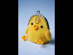 Вязаные кошельки детские. Crochet purse for children. Забавный вязаный кошелек очень понравится вашему ребенку. Много интересного материала по вязанию и руко...