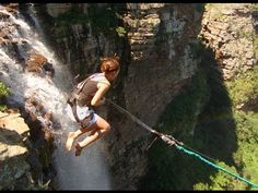 Bridge Jumping & Bungee Jumping across Gouritz River Bridge, South Africa Adventure Town, Adventure Is Out There, Adventure Awaits, Adventure Travel, The Places Youll Go, Places To See, Victoria Falls, Bungee Jumping, Before I Die