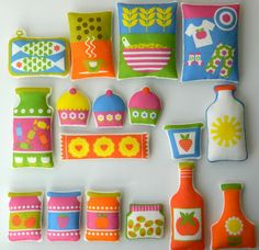 Alice Apple's play food, over in her Etsy shop soon
