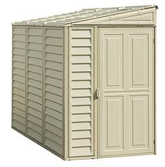 Duramax 06625 Side Mate Shed With Foundation, 4 By 8-Inch, 2015 Amazon Top Rated Storage Sheds #Lawn&Patio