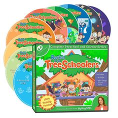 Learn Preschool Science with Rachel & the TreeSchoolers. Rachel and the TreeSchoolers is a great resource for your classroom or child care center! Preschool Science, Teaching Science, Teaching Kids, Baby Sign Language, Resource Room, Dvd Set, Music Library, Homeschool Curriculum, Homeschooling