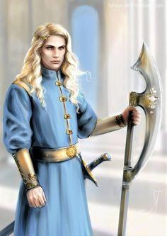 Fantasy Male, Fantasy Warrior, Fantasy Rpg, Medieval Fantasy, Character Inspiration, Character Art, Character Ideas, Das Silmarillion, Glorfindel
