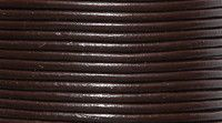Picture of 10LC156, India Leather Cord Red Brown 1mm 25 Meter