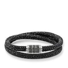 Bracelet de cuir \u2013 UB0004 \u2013 Femmes \u2013 THOMAS SABO