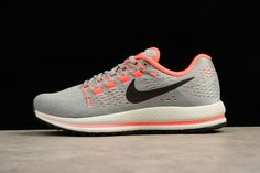 Spring Summer 2018 Buy NIKE AIR ZOOM VOMERO 12 MENS RUNNING SHOE Grey  Orange 863766 002 82eac499cc