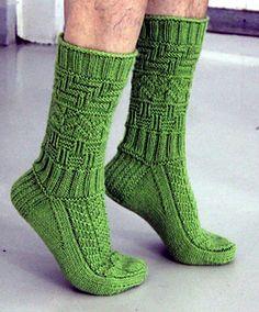 Ravelry: Isukille pattern by Sari Suvanto Knitted Slippers, Wool Socks, Slipper Socks, Knitted Gloves, Knitting Socks, Hand Knitting, Men's Socks, Sock Toys, Mittens Pattern