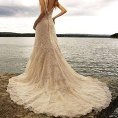country wedding dresses | Country Style Lace Wedding Dresses that Represent a Sense of Elegance