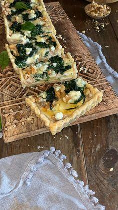 Veggie Recipes, Vegetarian Recipes, Cooking Recipes, Healthy Recipes, Happy Foods, Empanadas, Italian Recipes, Tapas, Food Porn