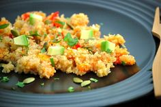 Southwest Quinoa Salad. Photo by Eat Well Meal Plans