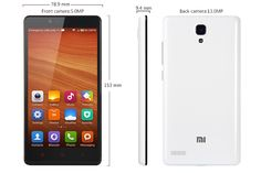 Xiaomi Redmi Note (Hongmi Note) 4G LTE Version MIUI Android 4.4  OS:  MIUI V5 Android 4.4 CPU:  Qualcomm Snapdragon 400 Cortex-A7 1.6GHz, AnTuTu Benchmark: 21751 GPU: Adreno 305 ROM: 8GB RAM: 2GB ( LPDDR3) Card Extend: Support SD/TF Card up to 64GB Screen: 5.5 inch OGS LG IPS HD Screen,capacitive touch screen 1280 x 720pixels Wifi : Dual-band Wi-Fi (2.4G/5G)  802.11 a/b/g/n/ac wireless internet