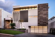 Contemporary concept home designed by European Concepts located in Minum Cove, Perth, Australia. Residential Architecture, Amazing Architecture, Contemporary Architecture, Interior Architecture, My Ideal Home, Concept Home, Exterior Design, Beautiful Homes, Building A House