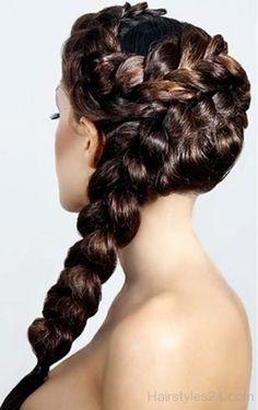 Braided Grecian Hairstyle