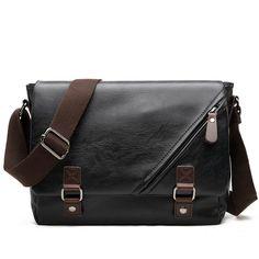 d5363e3cc071 2017 Men Envelope Bag Pu Leather Crossbody Messenger Bag Men s Fashion  Briefcase Document Business Shoulder Bags